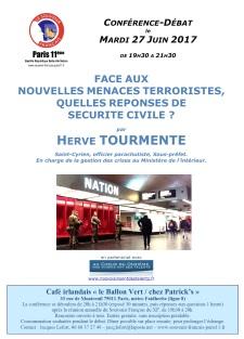 2017-06-27 Souvenir Francais XI - conference HTourmente - affiche